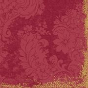 Middagsservett Dunilin Royal bordeaux 40x40cm 50st