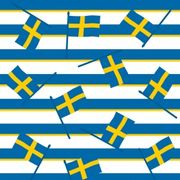 Lunchservett Swedish flag 33x33cm 20st