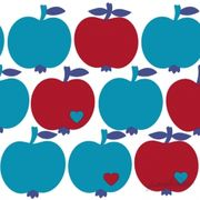 Lunchservett Apples Red 33x33cm 20st