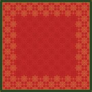 Snibbduk Dunicel X-mas Deco red 84x84cm 20st