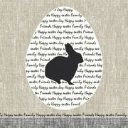 Lunchservett 3-lagers Bunny Greetings 33x33cm