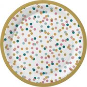 Papperstallrik 22cm Dream Dots