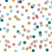 Kaffeservett 3-lagers Dream Dots 24x24cm