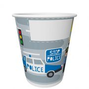 Pappersmugg 20cl Police