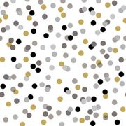 Lunchsservett 3-lagers 33x33cm Dream Dots Black