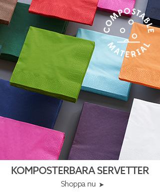komposterbara servetter