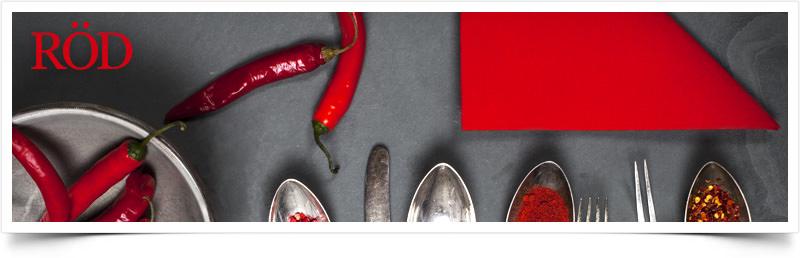 Handla efter färg - Röd