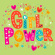 Lunchsservett 3-lagers 33x33cm Girl Power